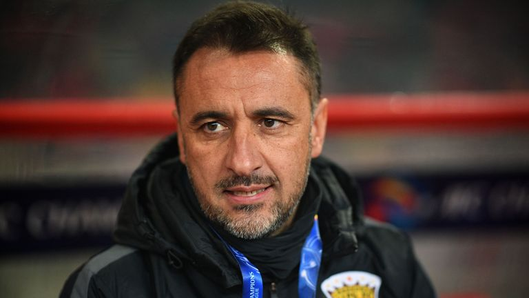 Everton want to appoint Vitor Pereira before Sunday's game against Manchester United