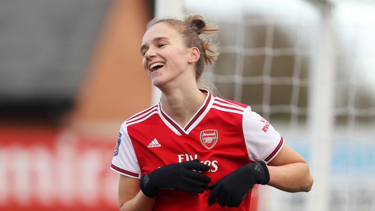 Vivianne Miedema scored six and registered four assists at Meadow Park