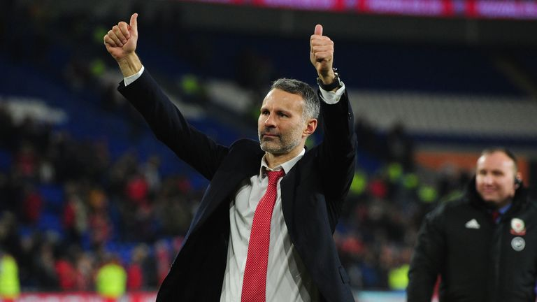 Ryan Giggs wants to lead Wales to a World Cup Finals tournament after qualifying for this summer's Euro 2020.