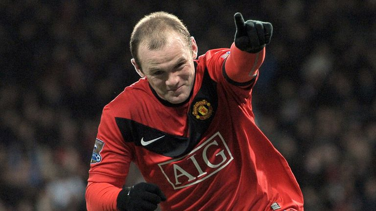 Rooney scored 253 goals during a 13-year spell with Manchester United