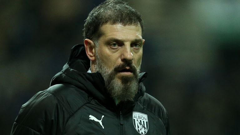 Slaven Bilic is tasked with leading West Brom to a return to the Premier League