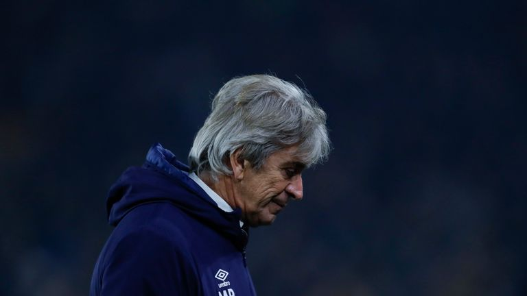 Manuel Pellegrini has been sacked as West Ham United boss following a run of just two wins from their last 13 Premier League matches