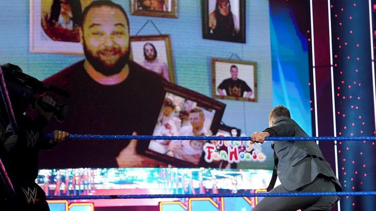 With Daniel Bryan missing after last week's attack, The Miz vows to find the former WWE Champion, but Bray Wyatt interrupts with intentions of pulling The Awesome One into his twisted games.