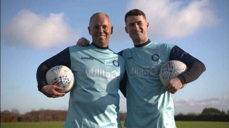 Find out what happened when Judge Rinder was welcomed in by Wycombe Wanderers in episode four of 'I'm Game'