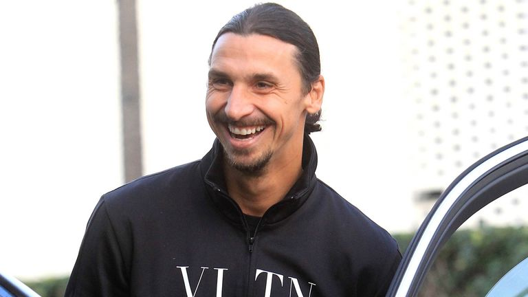 Zlatan Ibrahimovic is close to a return to Italy