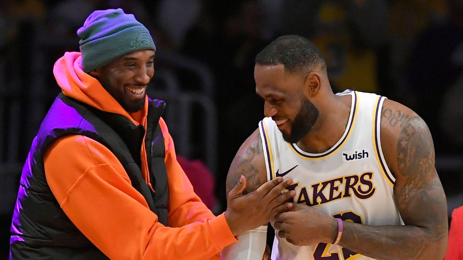 LeBron posts Kobe tribute