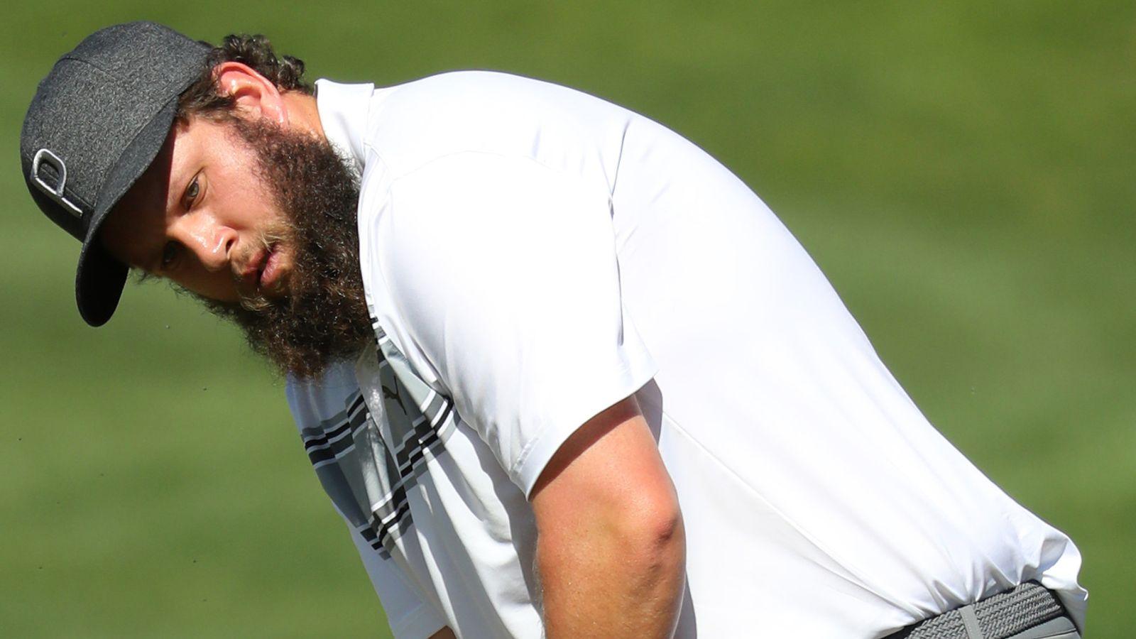 Andrew 'Beef' Johnston feliz en casa durante el encierro | Noticias de golf 13