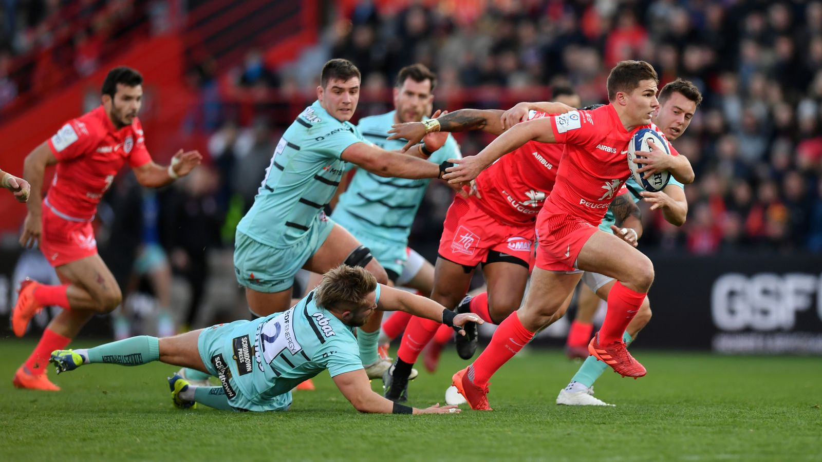 Toulouse 35-14 Gloucester: Gloucester's Champions Cup hopes ended