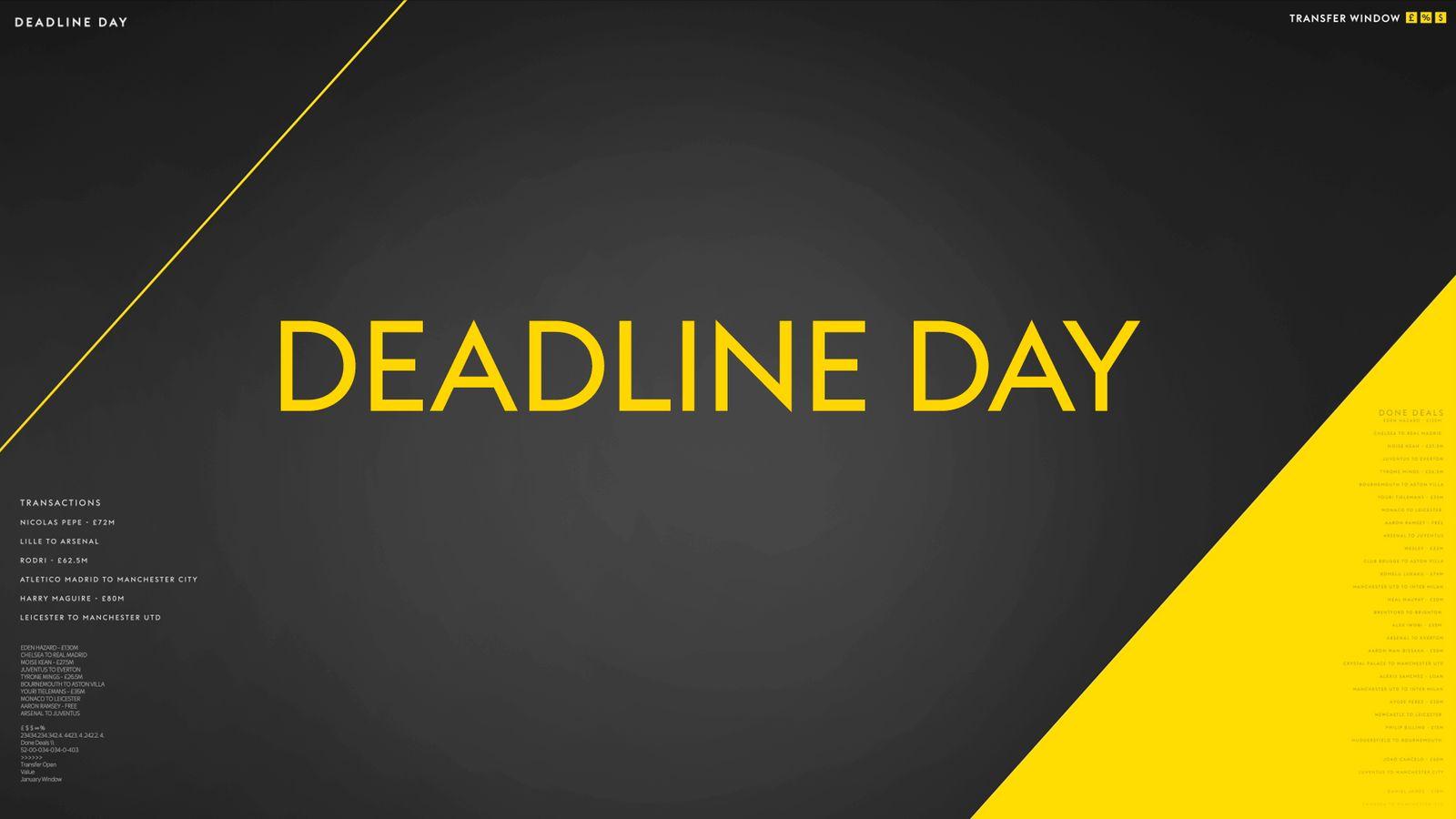 Sky Deadline Day