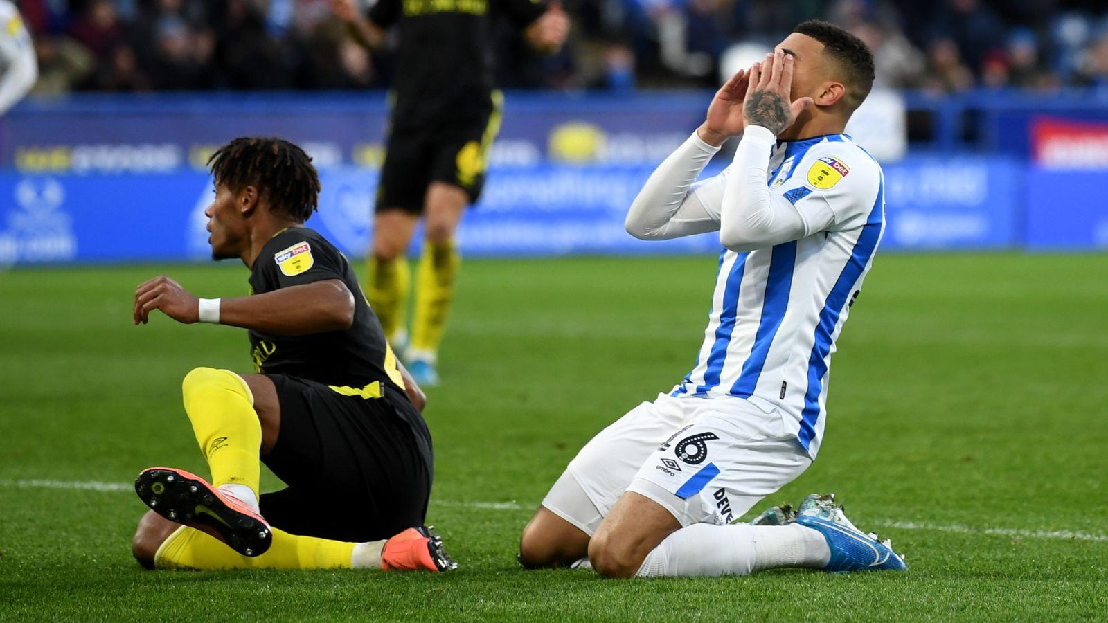 Huddersfield 0-0 Brentford: Bees held at the John Smith's Stadium