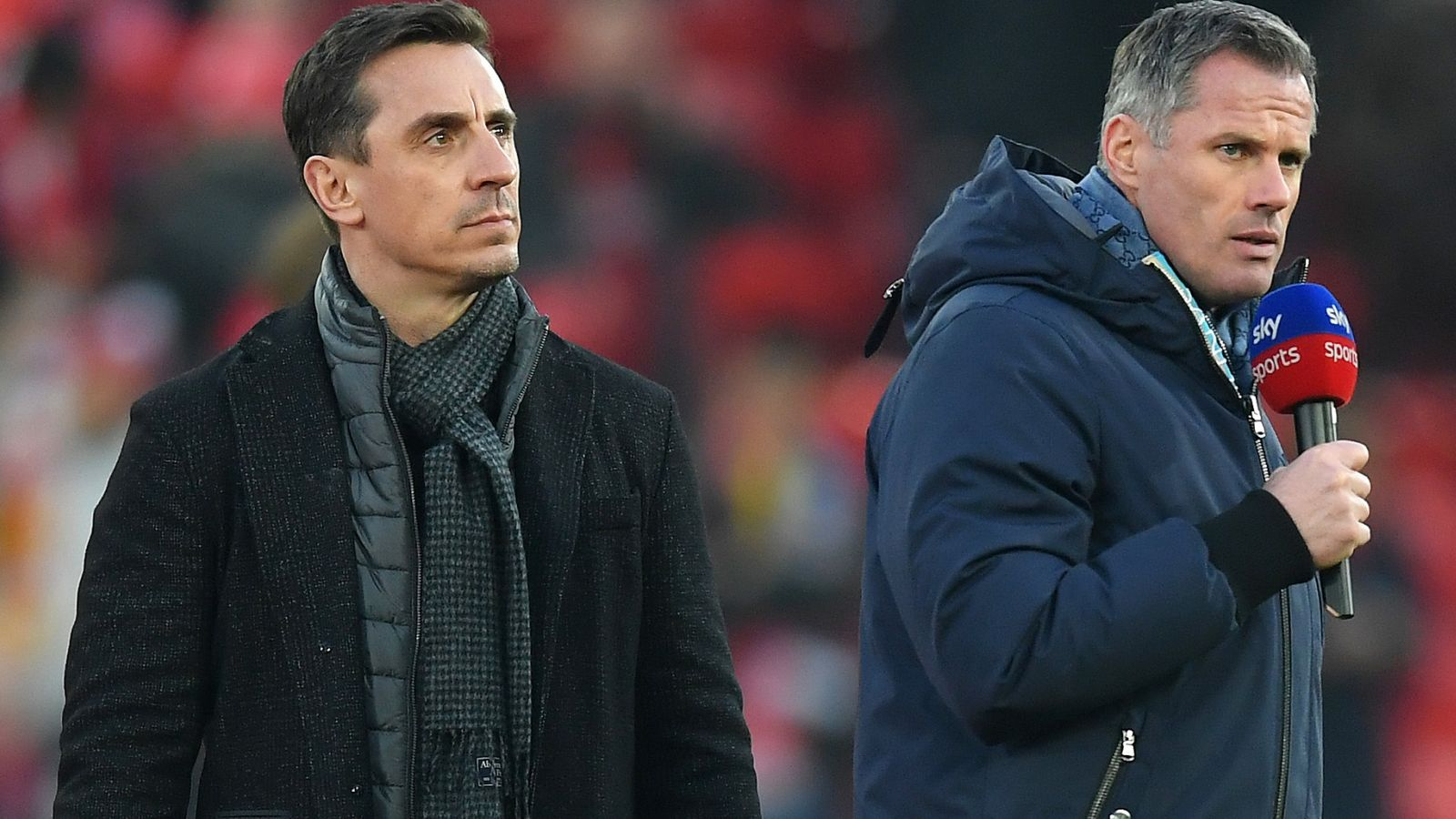 Gary Neville and Jamie Carragher rue 'football's missed opportunity' during coronavirus crisis