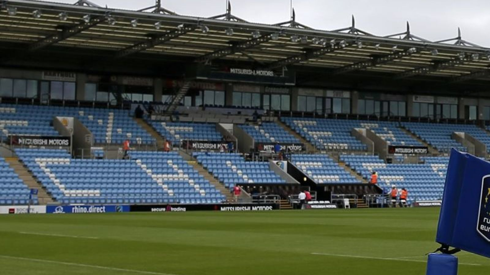 Exeter Chiefs chairman Tony Rowe fears Premiership clubs could go bust if fans don't return soon