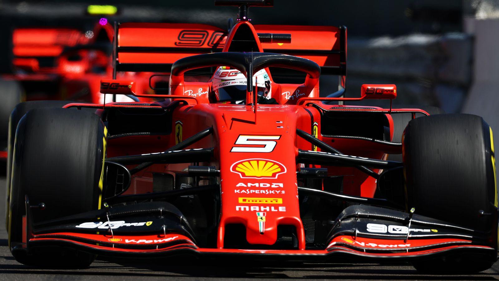 Ferrari Reveal Grand Setting For 2020 F1 Car Launch