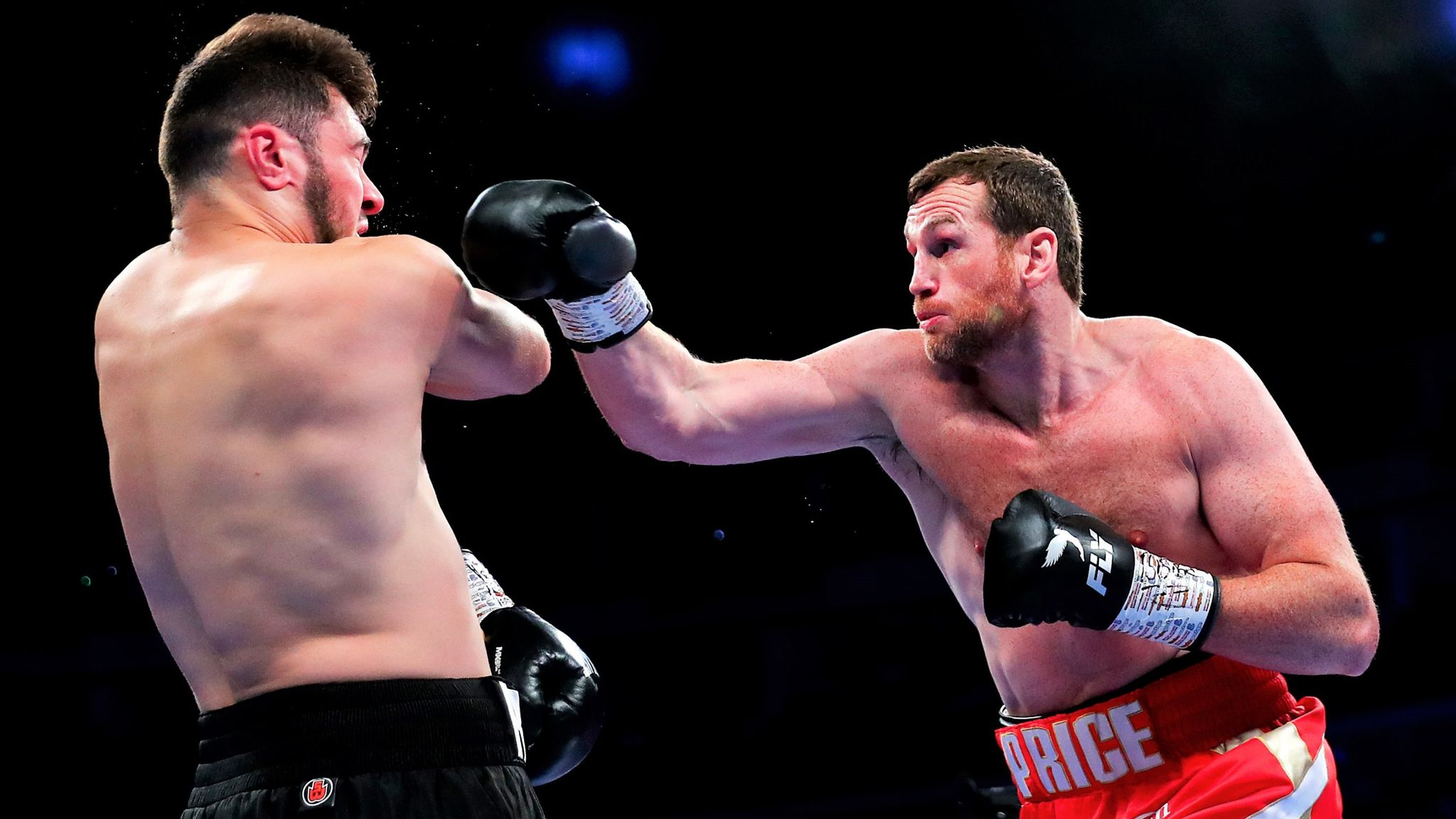 David Price would relish a battle with Lucas Browne