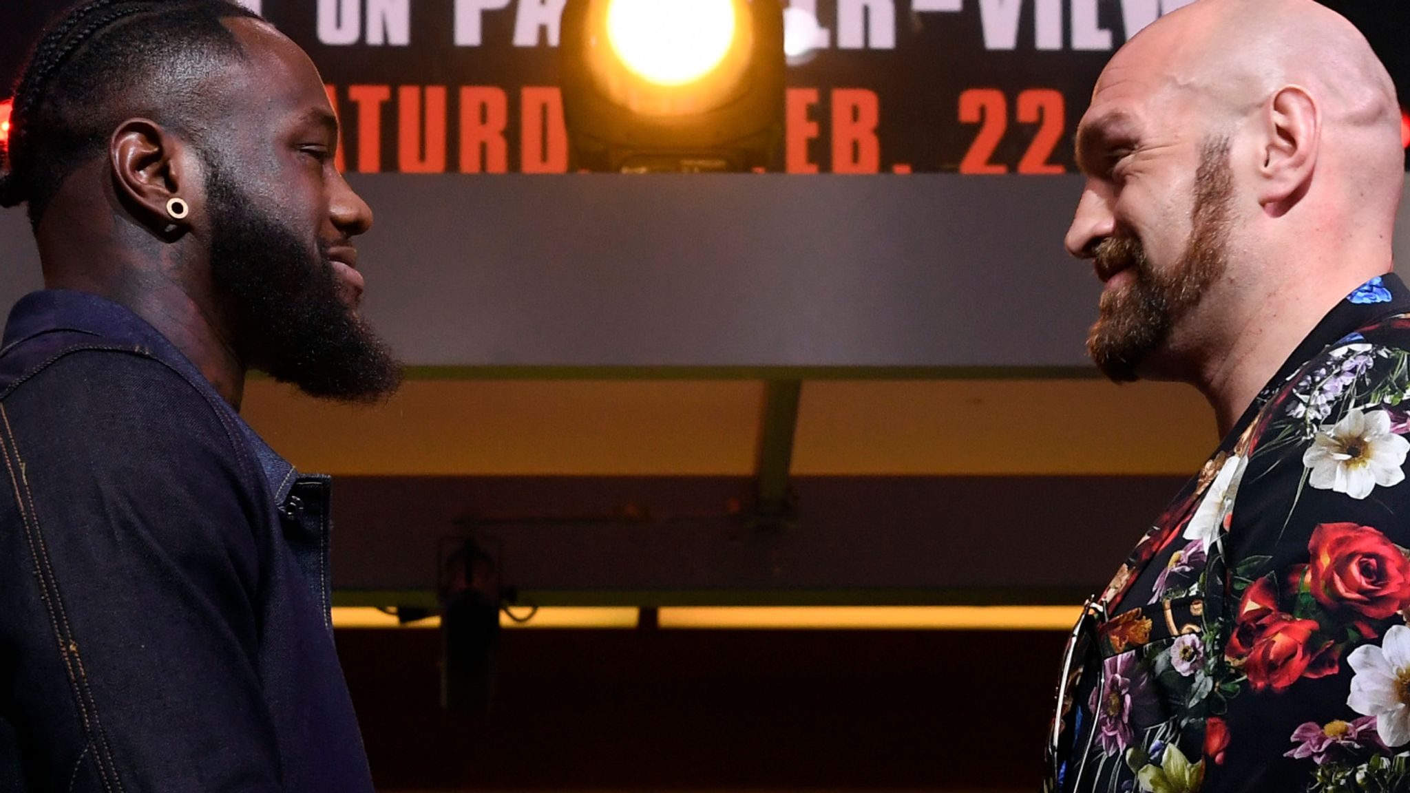Wilder vs Fury 2: Deontay Wilder claims he didn't feel Tyson Fury's power in first fight