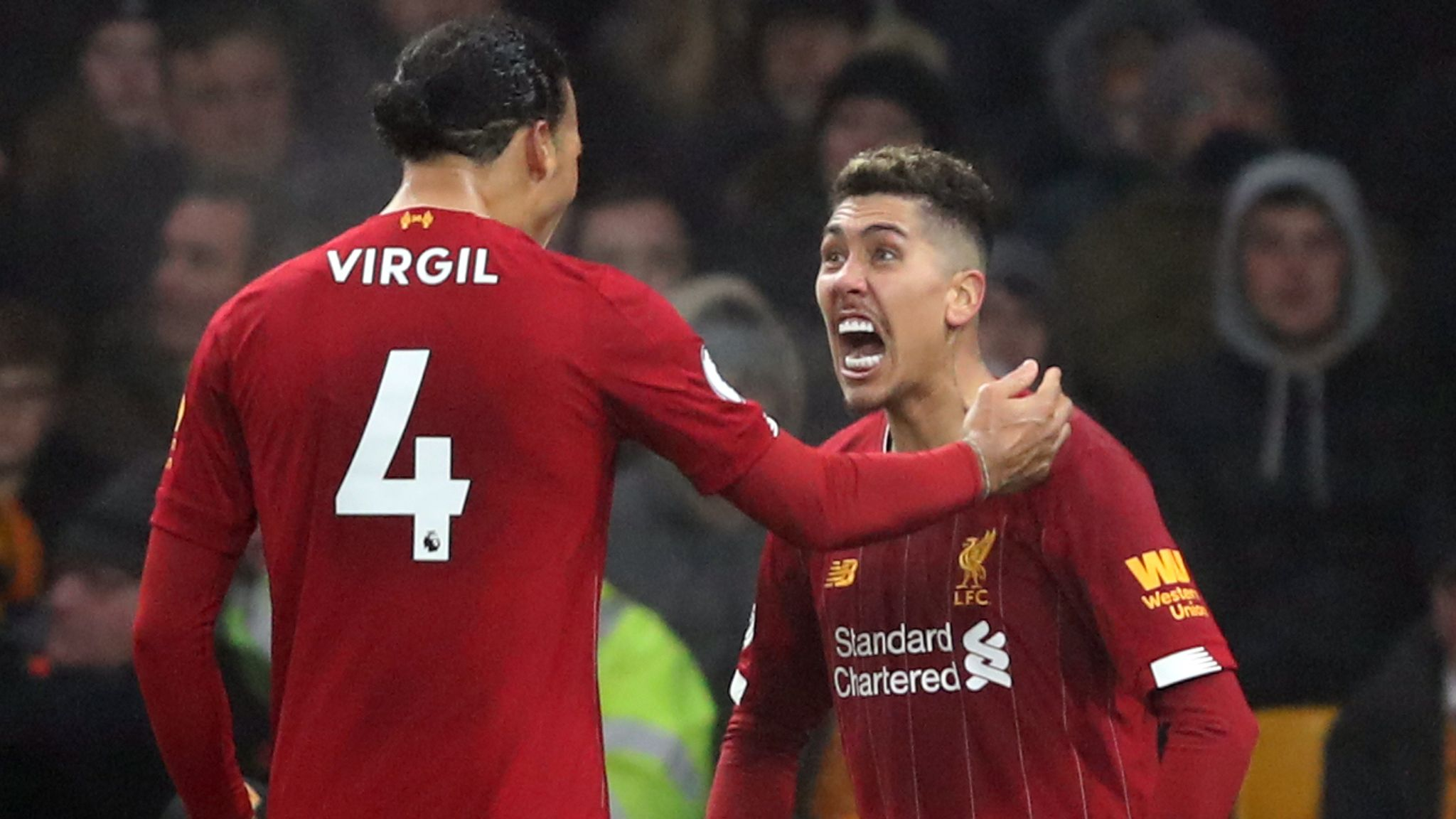 Wolves 1 2 Liverpool Late Roberto Firmino Goal Continues Reds Remarkable Run Football News Sky Sports Uefa champions league group d. wolves 1 2 liverpool late roberto