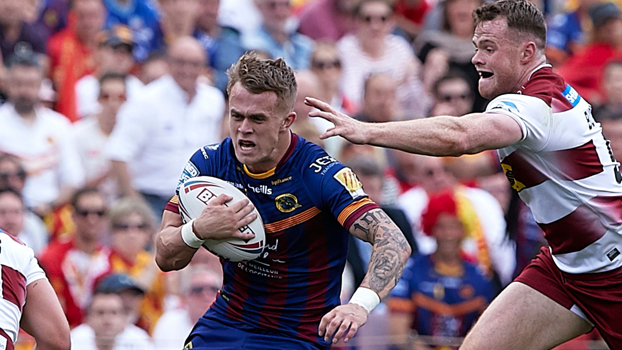 Catalans Dragons winger Lewis Tierney to miss start of season