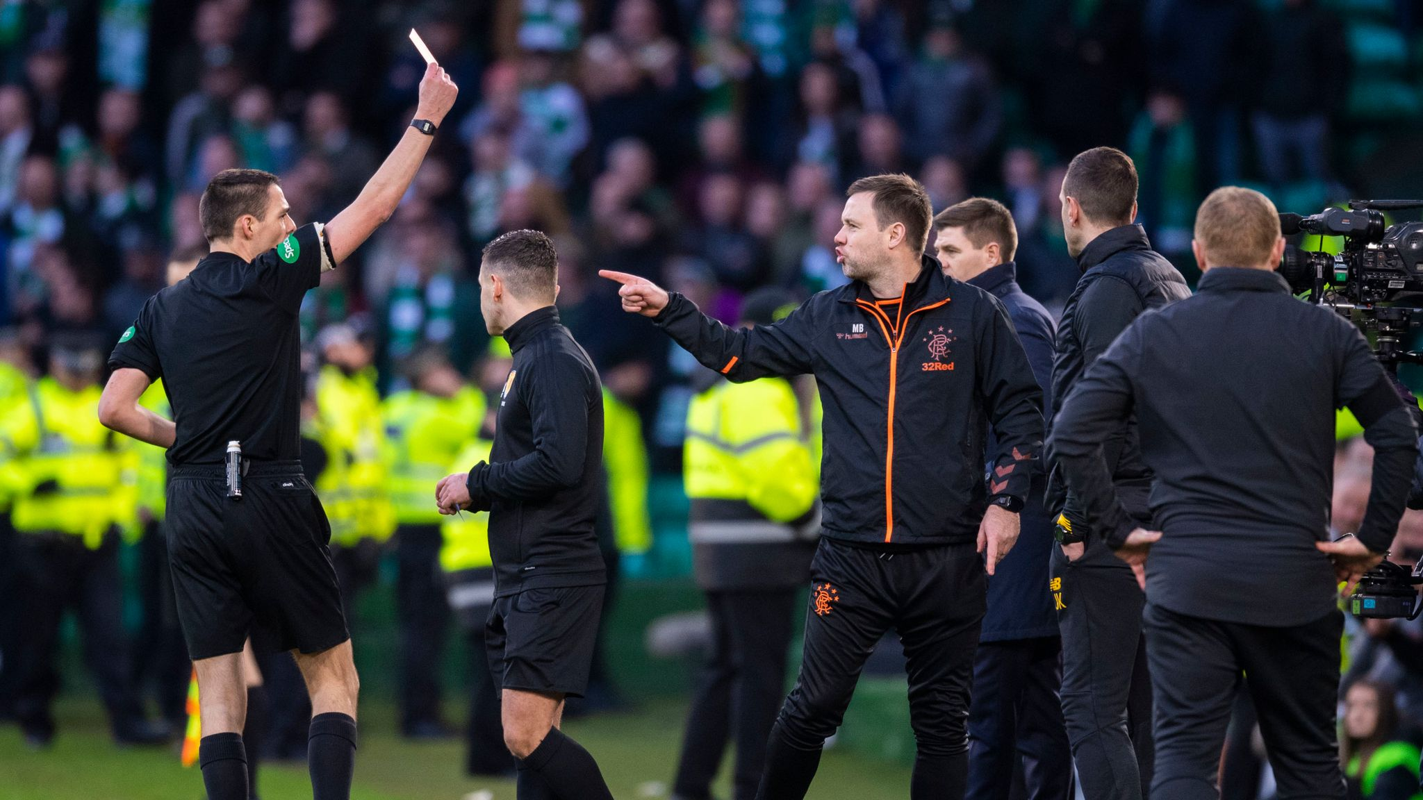 Rangers hit with two SFA charges, Hibernian also cited
