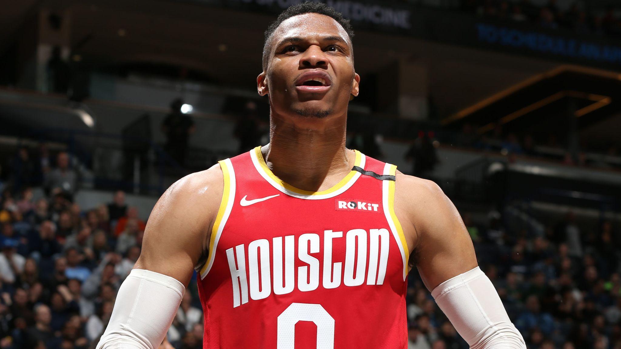 Russell Westbrook: 'MVP Russ' drops season-high 45 against Minnesota Timberwolves to offset James Harden slump