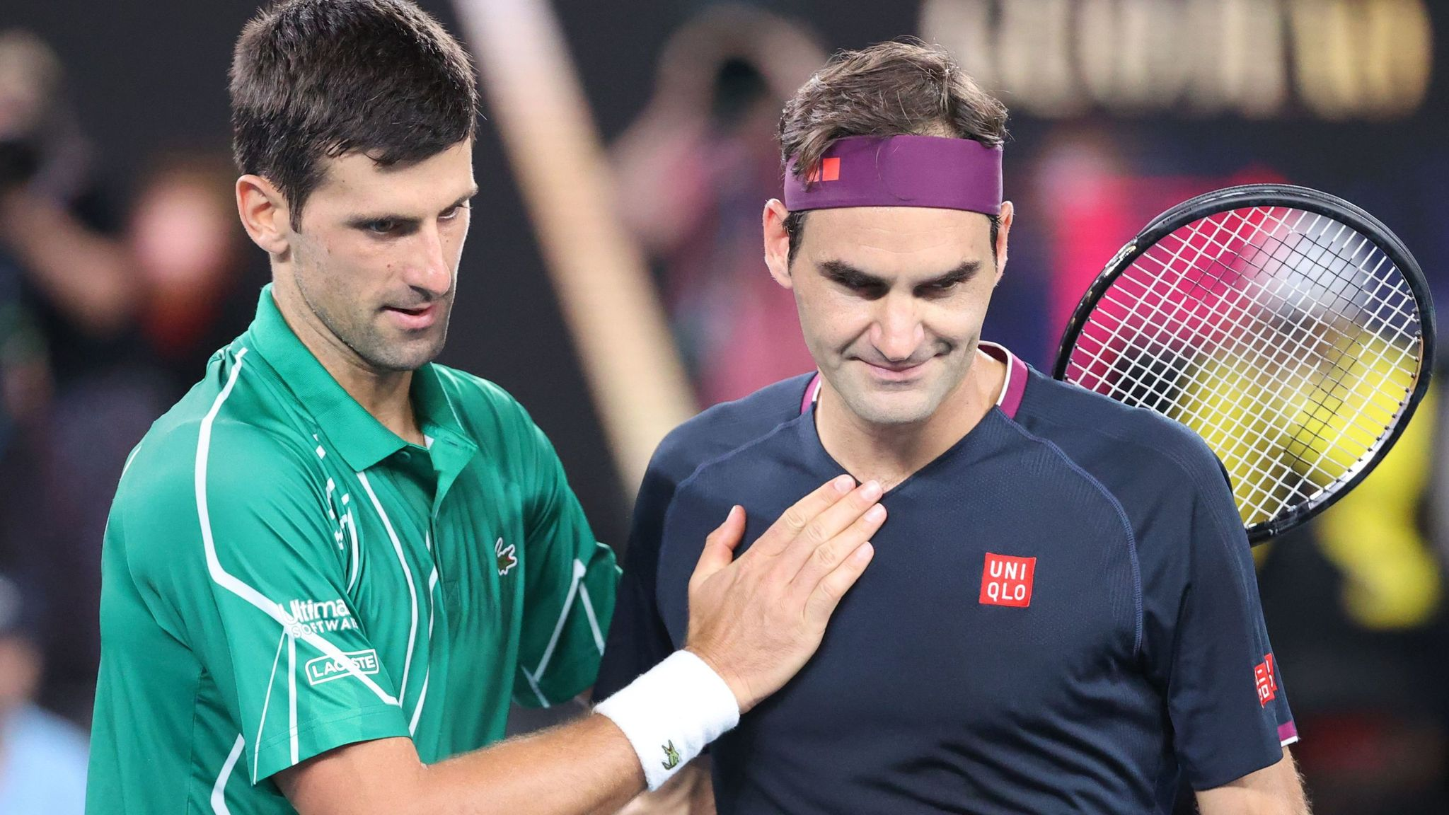 Novak Djokovic Says Roger Federer Will Be Missed After His Recent Knee Surgery Tennis News Sky Sports
