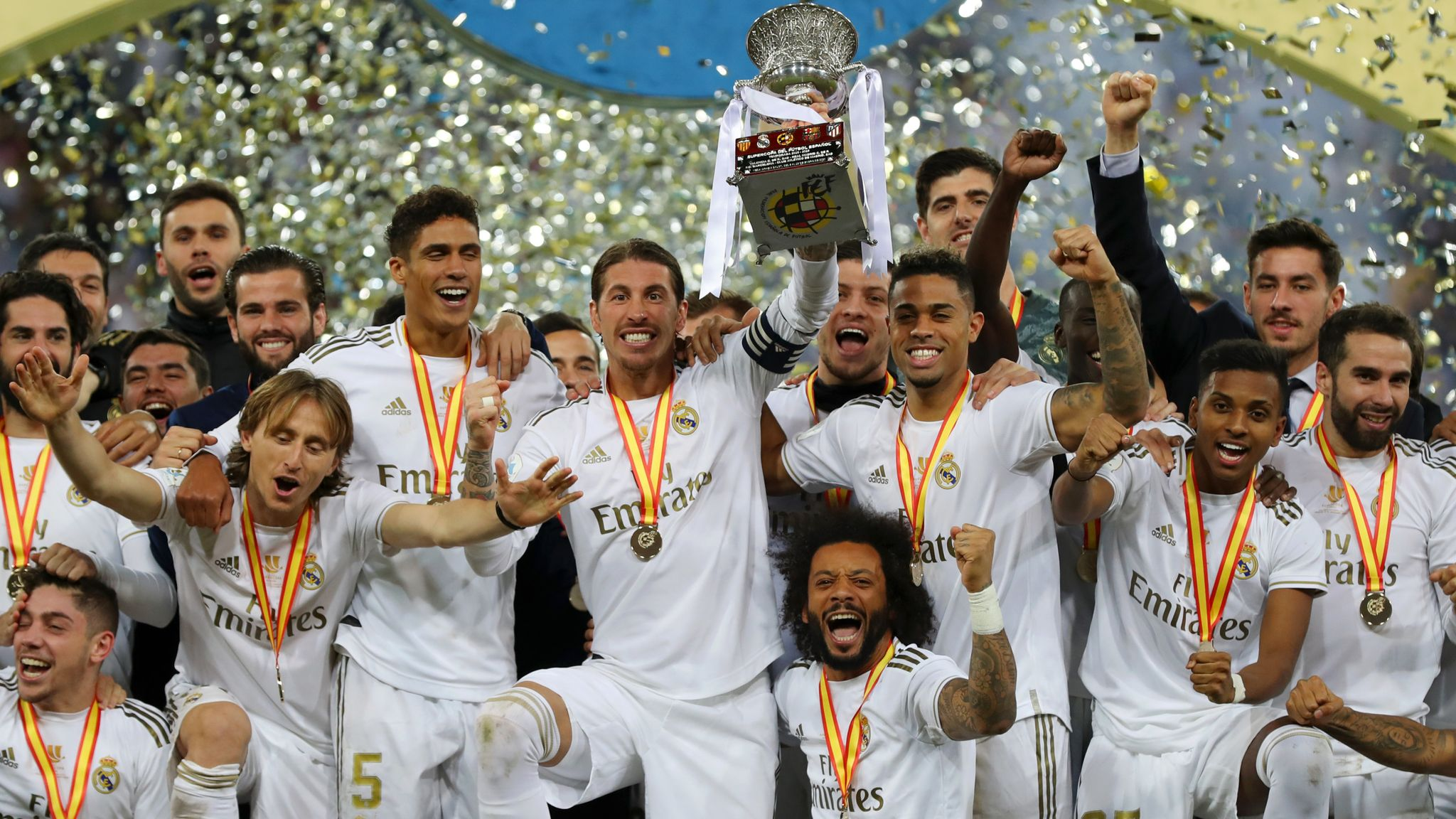 Real Madrid Beat Atletico Madrid On Penalties To Claim First Title of The Season