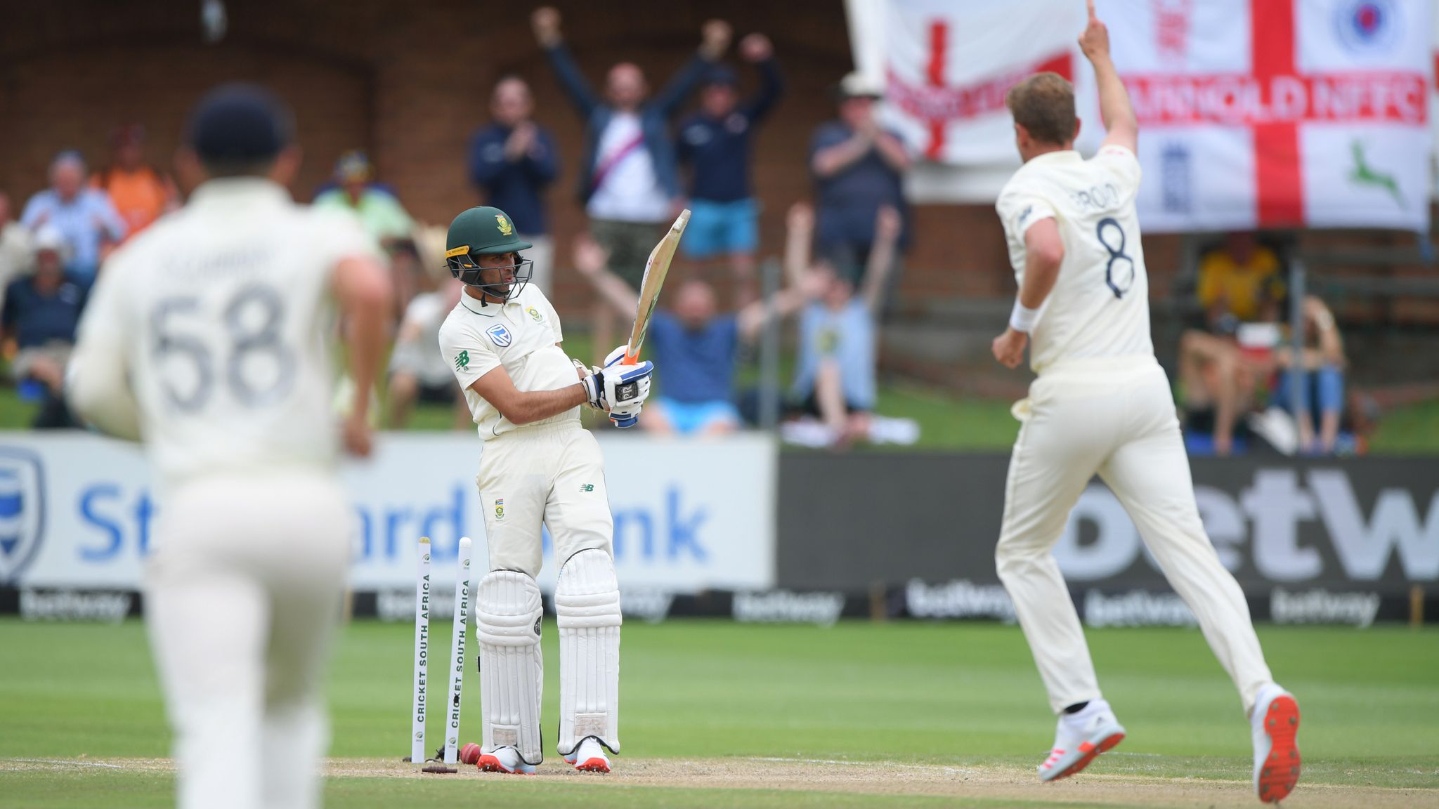 Four wickets for one run: How South Africa crumbled against England
