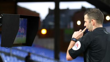 PL refs to use pitchside monitors for red cards
