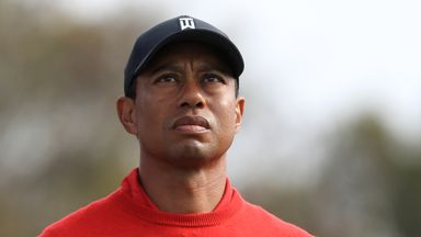 Tiger Woods was not told of Kobe Bryant's death until he finished his final round
