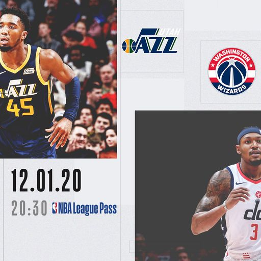 NBA Sundays: Jazz @ Wizards on Sky Sports