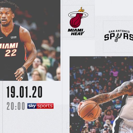 NBA Primetime: Heat @ Spurs on Sky Sports