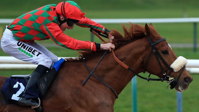 Arabian King  and Luke Morris strike at Southwell