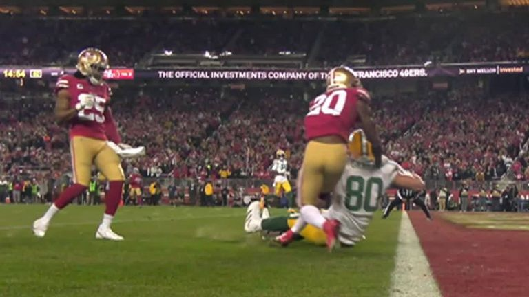 jimmy graham of the Green Bay Packers