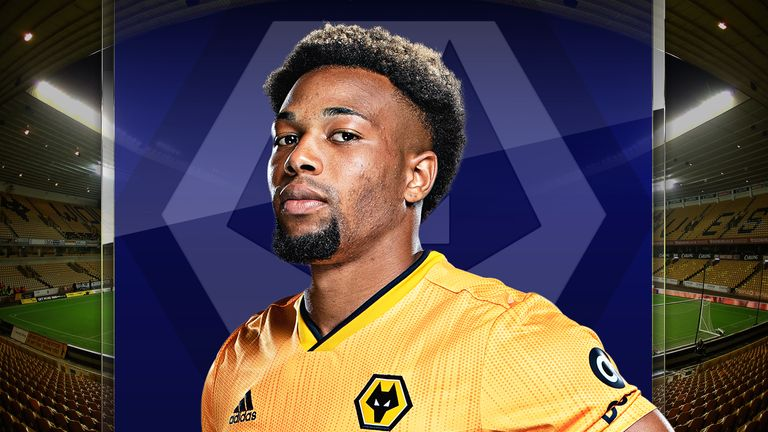 Adama Traore is in fine form for Wolves