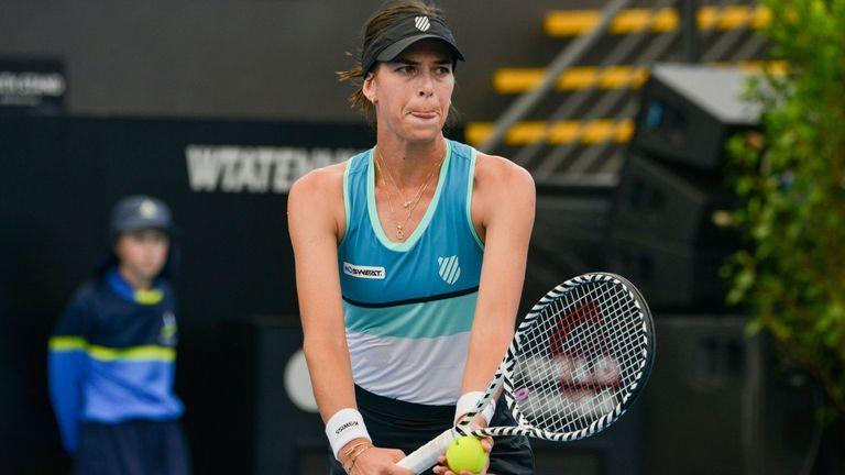 Ajla Tomljanovic set up a meeting with Wimbledon champion Simona Halep