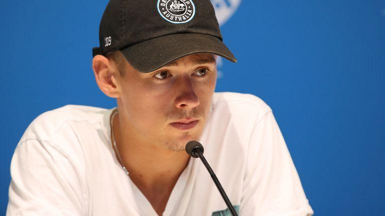 Alex de Minaur has been forced to withdraw from the Australian Open