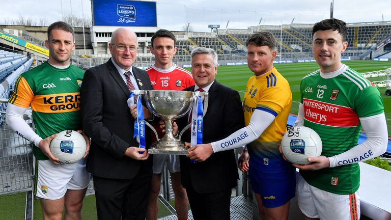 The 2020 Allianz Football League was launched on Thursday afternoon