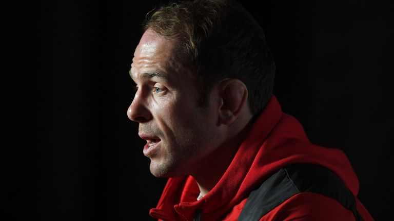 Having spent his entire Test career under Warren Gatland, 134 caps of it, Alun Wyn Jones says the squad is only looking ahead