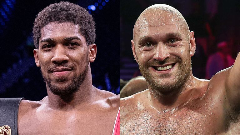 Anthony Joshua and Tyson Fury hold every major title