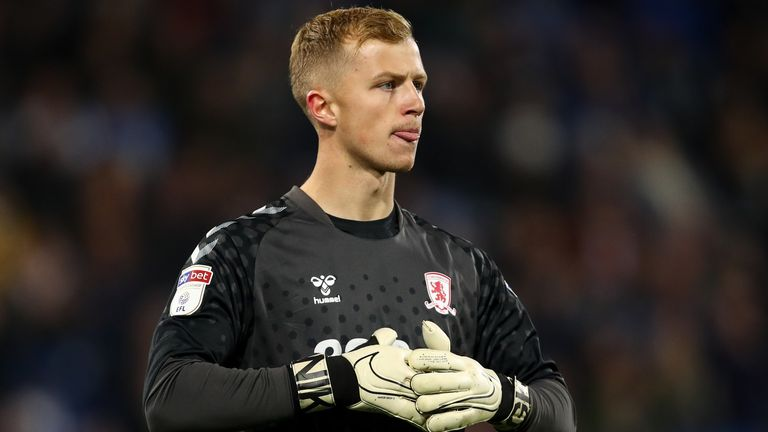 Aynsley Pears has impressed in goal for Middlesbrough