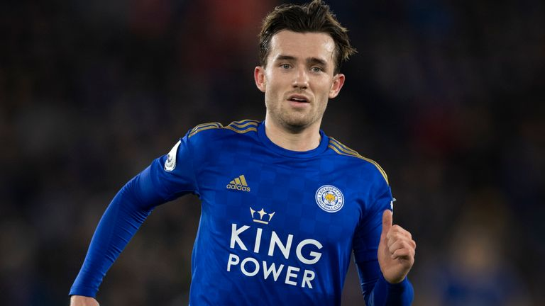 Ben Chilwell did not feature against Burnley
