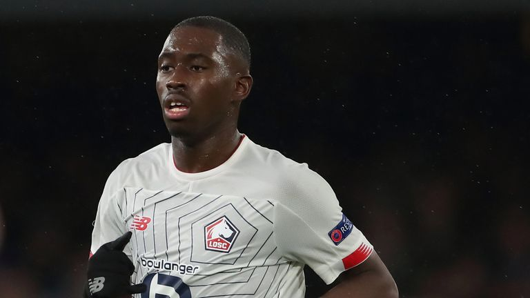 Boubakary Soumare of Lille has been linked with Chelsea