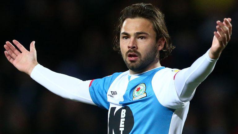 Blackburn midfielder Bradley Dack faces a year out