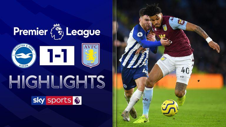 Brighton v Villa highlights
