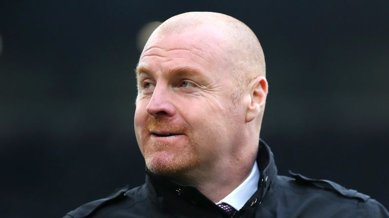 Burnley boss Sean Dyche regularly plays a 4-4-2 formation