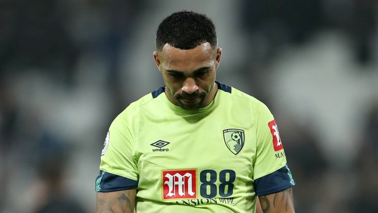 Callum Wilson failed to find the target at the London Stadium