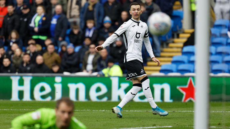 Bersant Celina hit the post midway through the first half