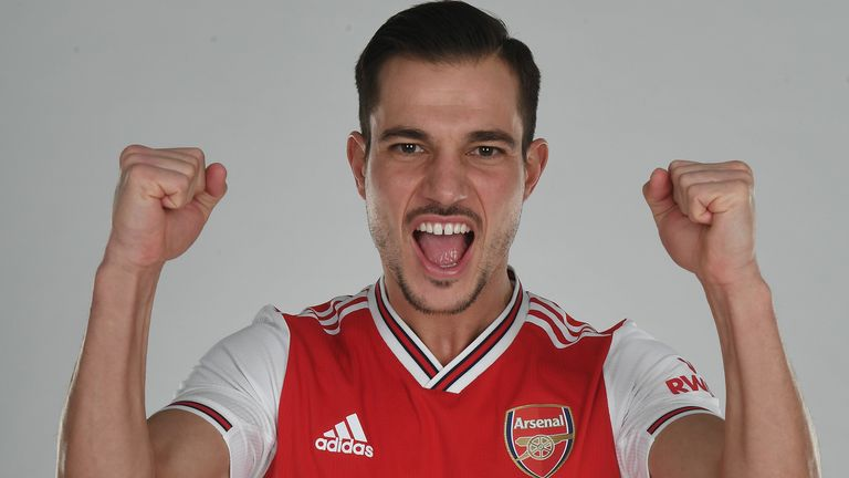 Cedric Soares also makes a permanent switch to Arsenal