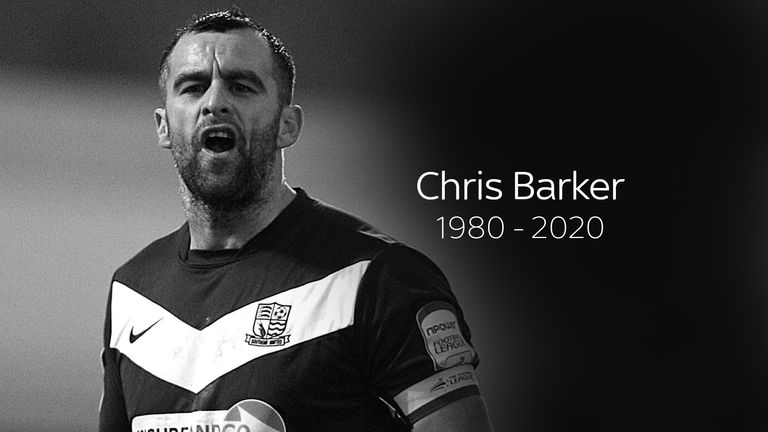 Image result for Former footballer Chris Barker dies: Ex-Barnsley, Cardiff and Southend defender passes away aged 39