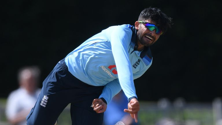 Hamidullah Qadri joined Kent from Derbyshire at the end of last season