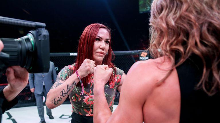 Cris Cyborg Julia Budd MMA